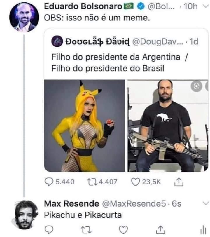 Olatotebolsonariano - meme