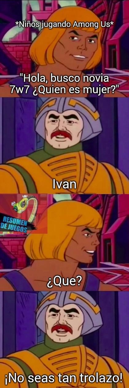 Meme de amongolicos
