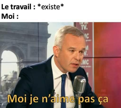 Fc chômage - meme