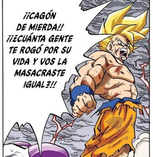 El doblaje Argentino de Dragón Ball es lo mejor - meme