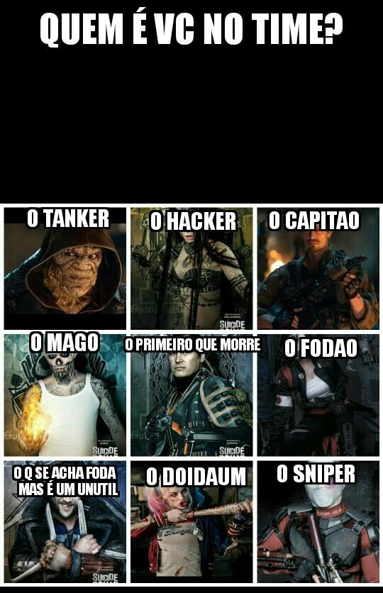 O hack...quer dizer...o sniper :) - meme