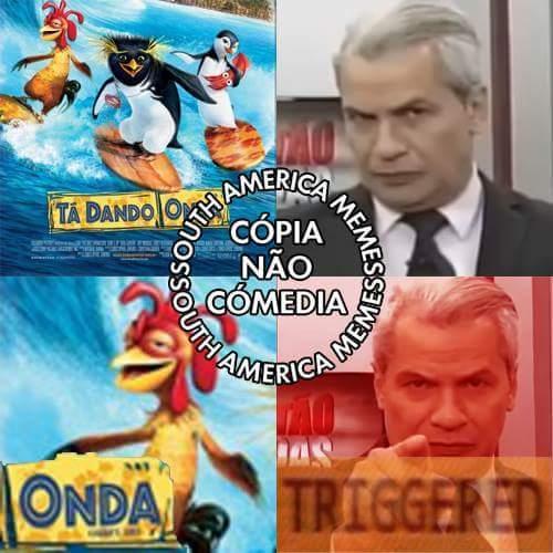 Peguei da South America Memes, curtam lá :)