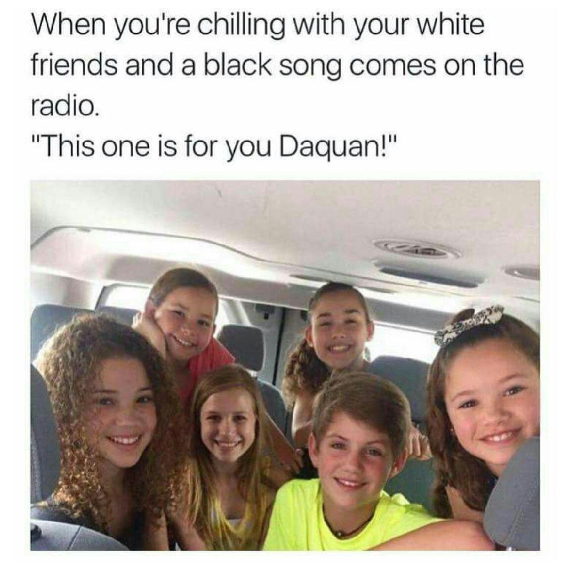 Not racist - meme