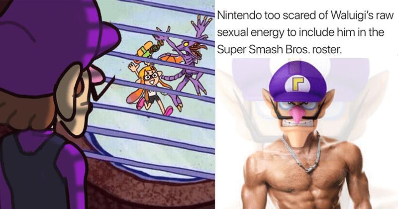 Waluigi Time Partie 2 - meme