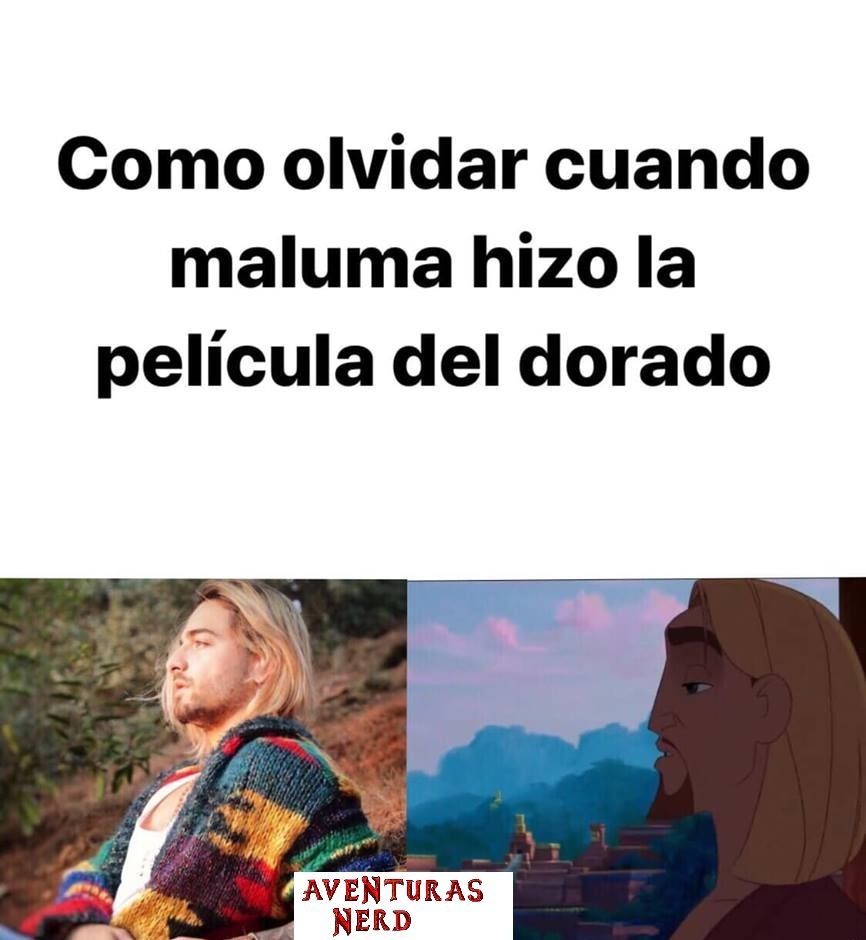 Maluma es un loquillo - meme