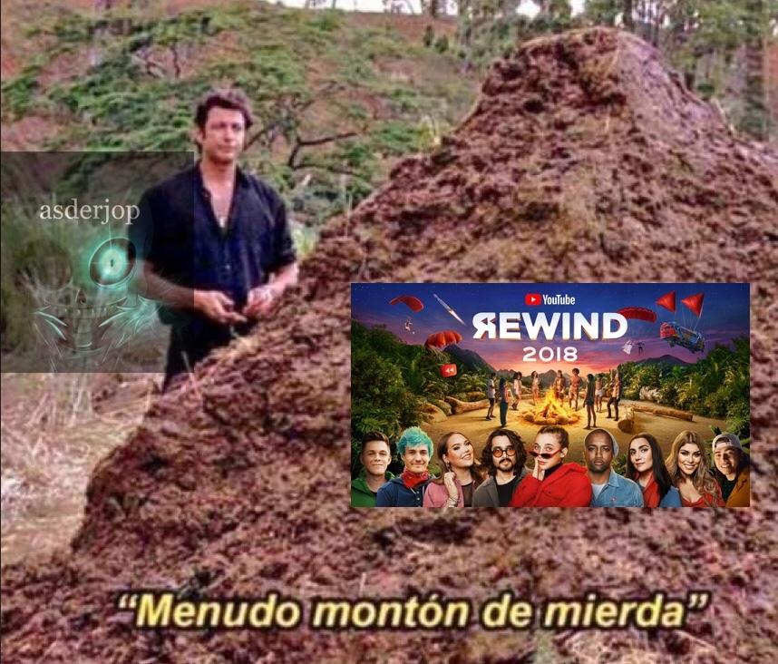 Qué asco de Rewind - meme