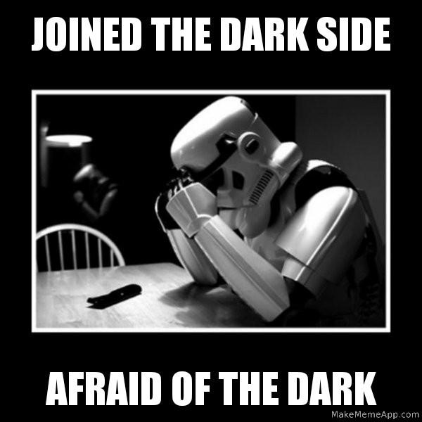 Dark side - meme
