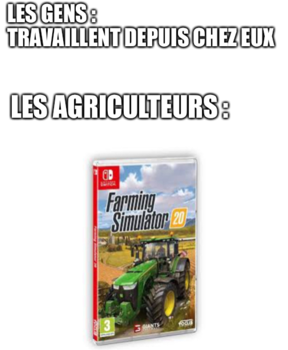 Farming simulator - meme