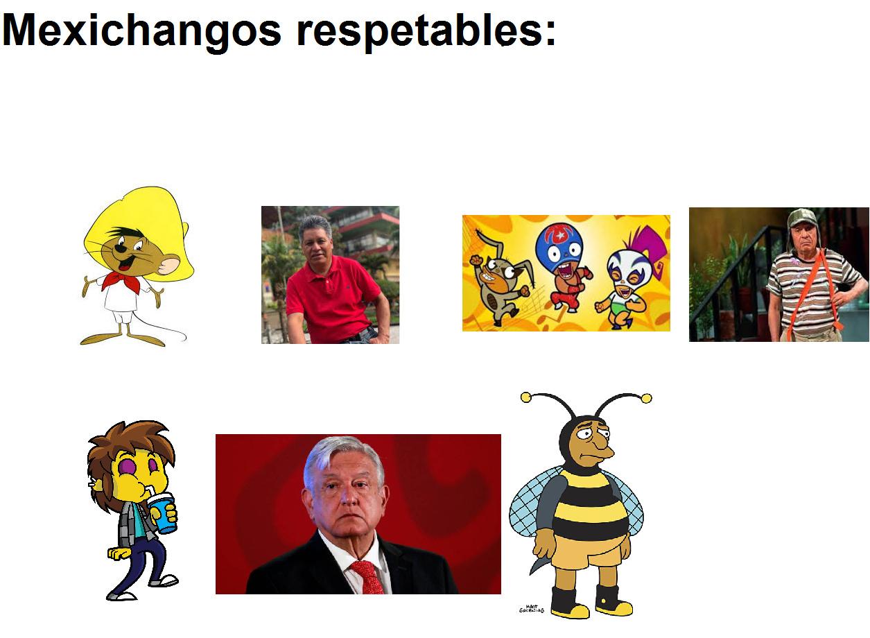esos si son respetables :son:7 - meme