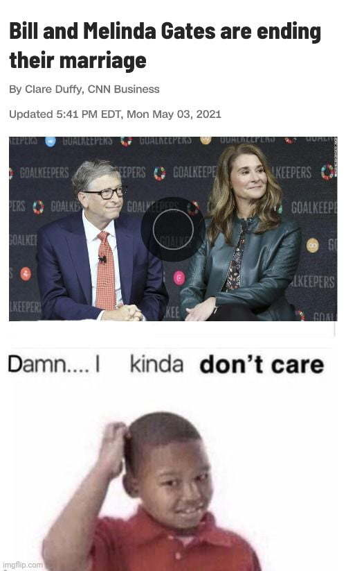 Who cares? - meme