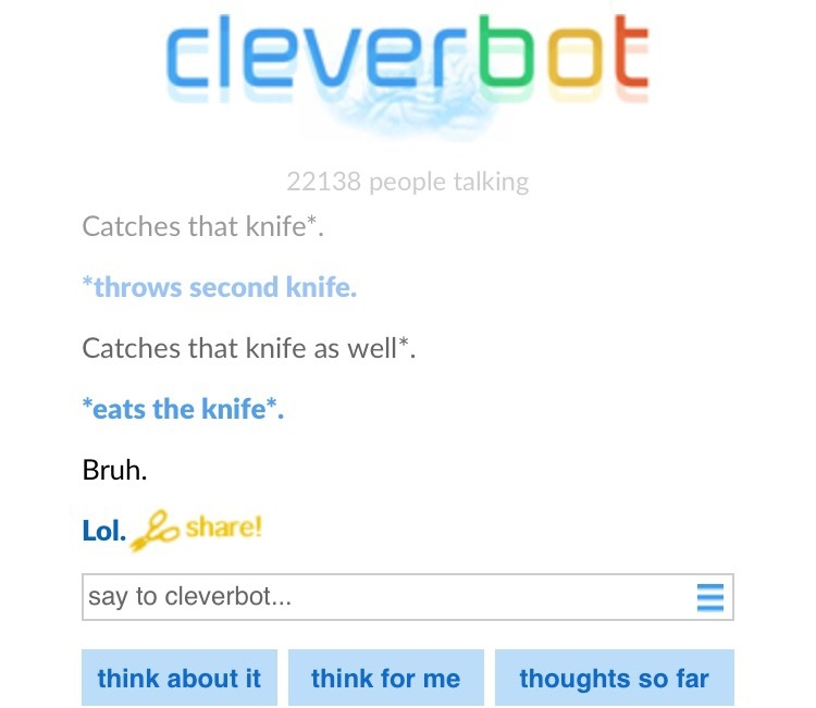 oh cleverbot - meme