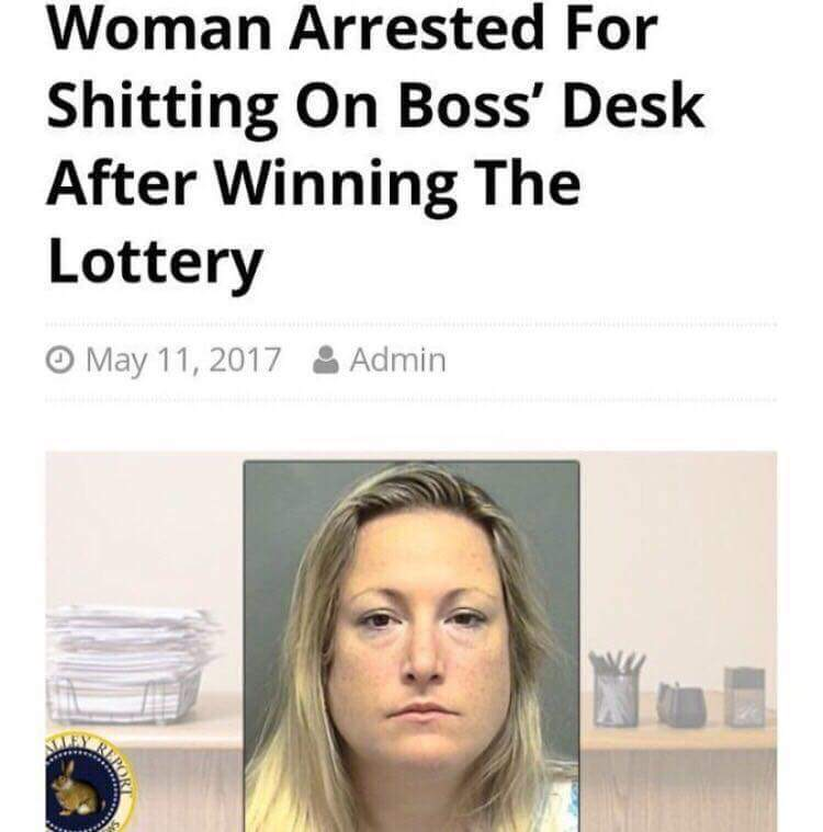 What would you do if you won the lottery? - meme