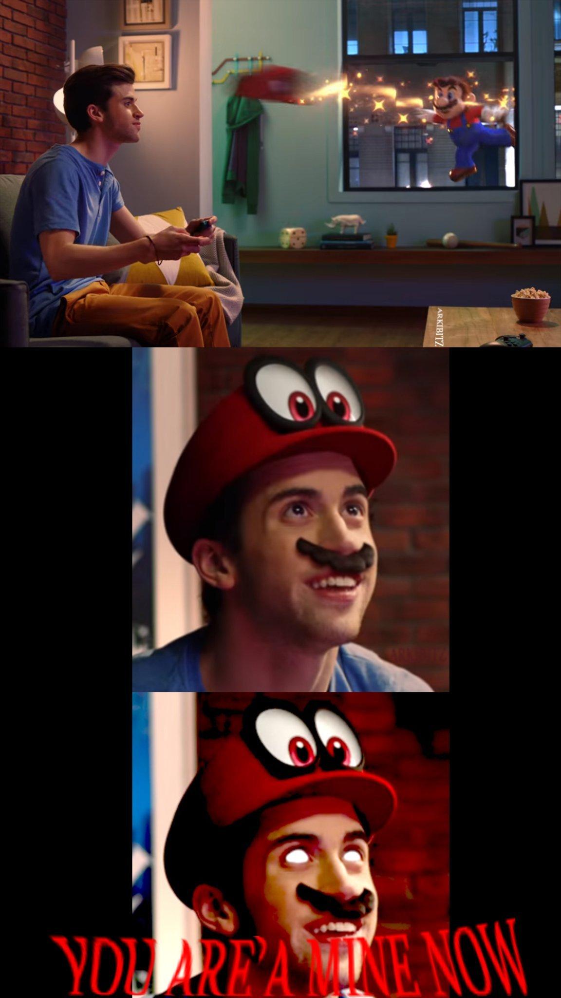 Mario POSESSION - meme