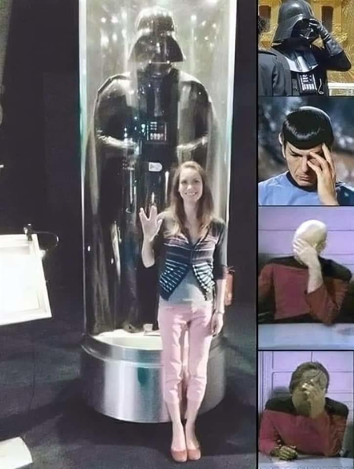 Force choke her pls - meme