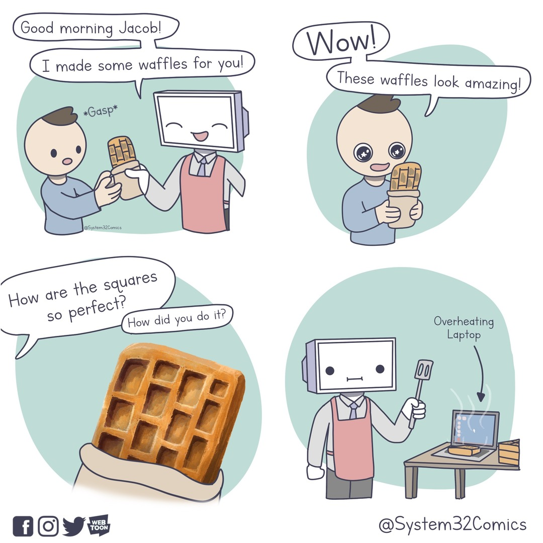 Perfect Waffles - meme