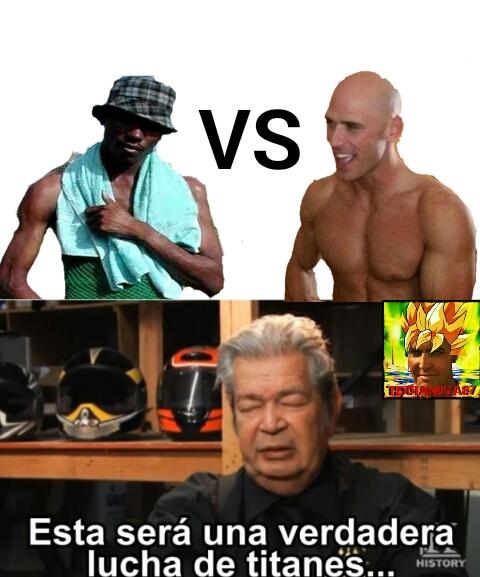 El Negro VS El Pelon - meme