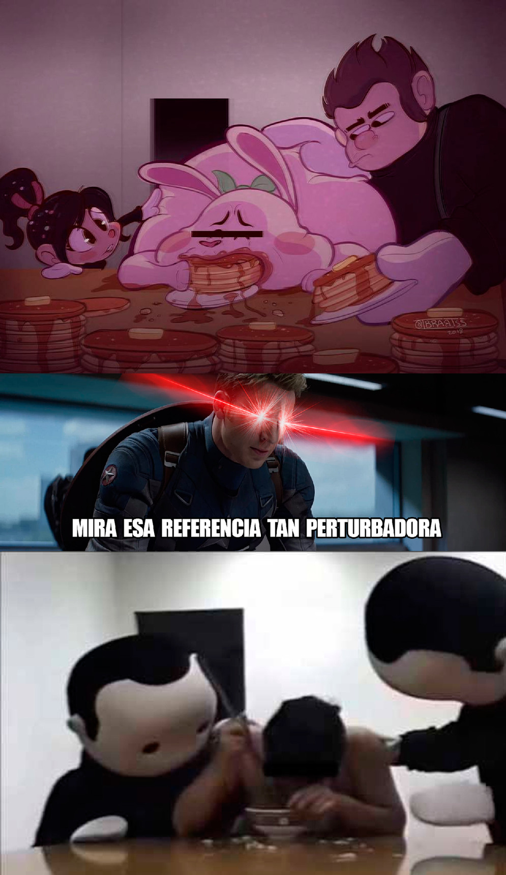 Otra Capi-referencia siniestraaaaa - meme