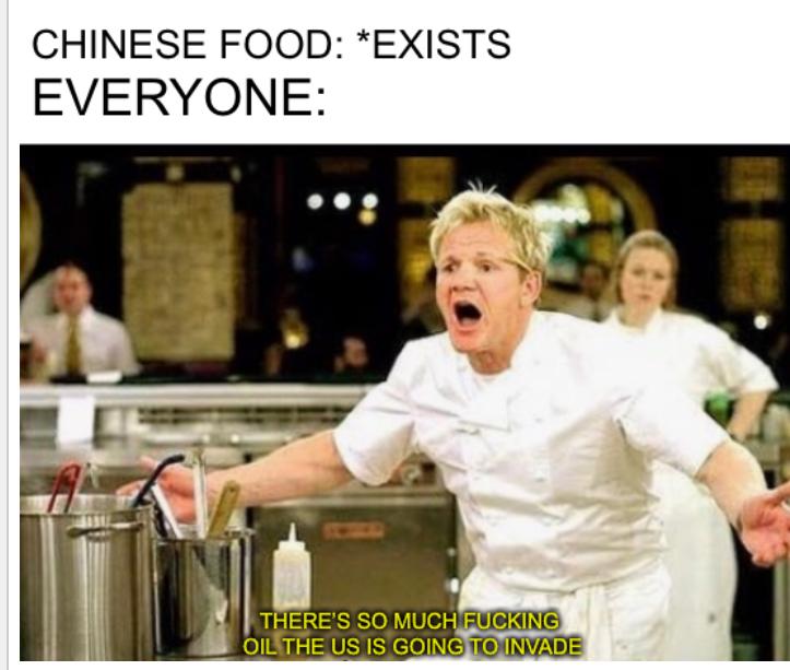 So oily - meme