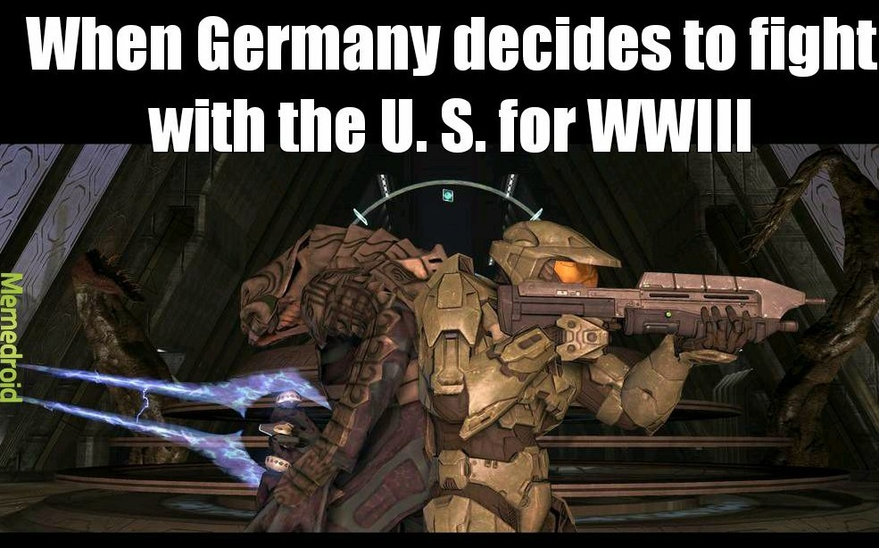 World war halo 3 - meme