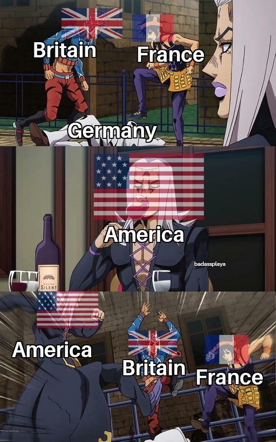 Allies be like - meme