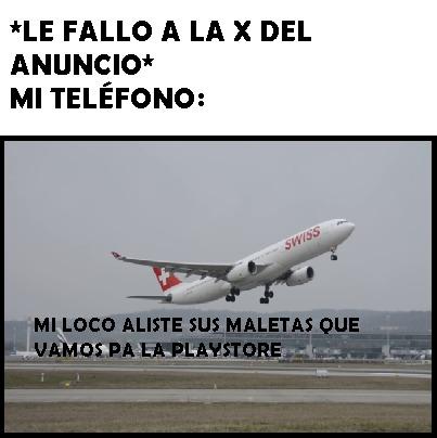 A volar - meme