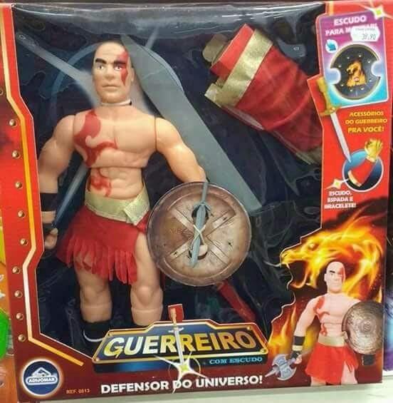 O novo boneco do cleiton deus da guerra