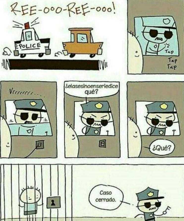 El mejor policía del mundo - meme