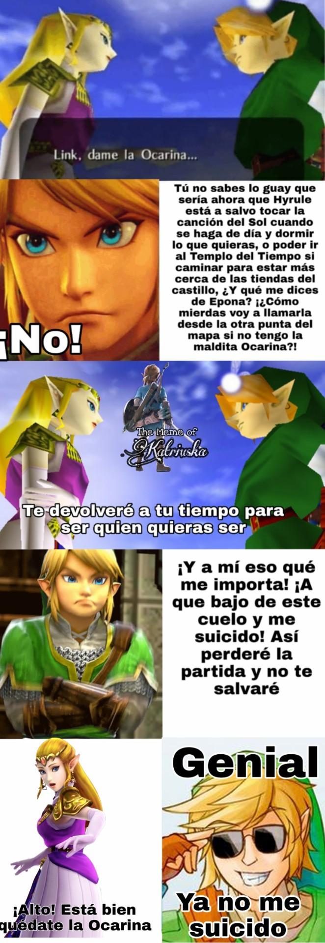 Link se revela... - meme