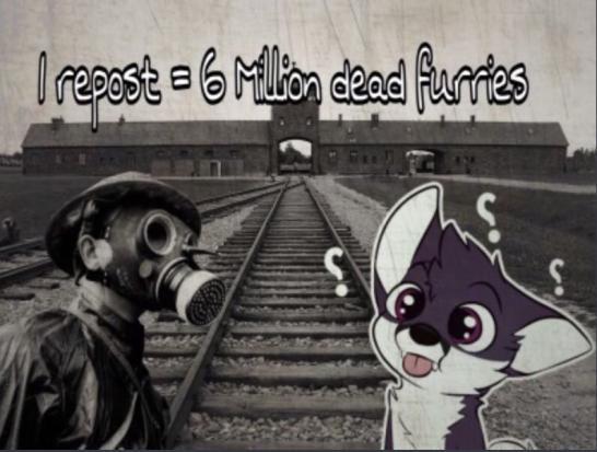 Porfavor reposteen para 6 millones de furries muertos - meme