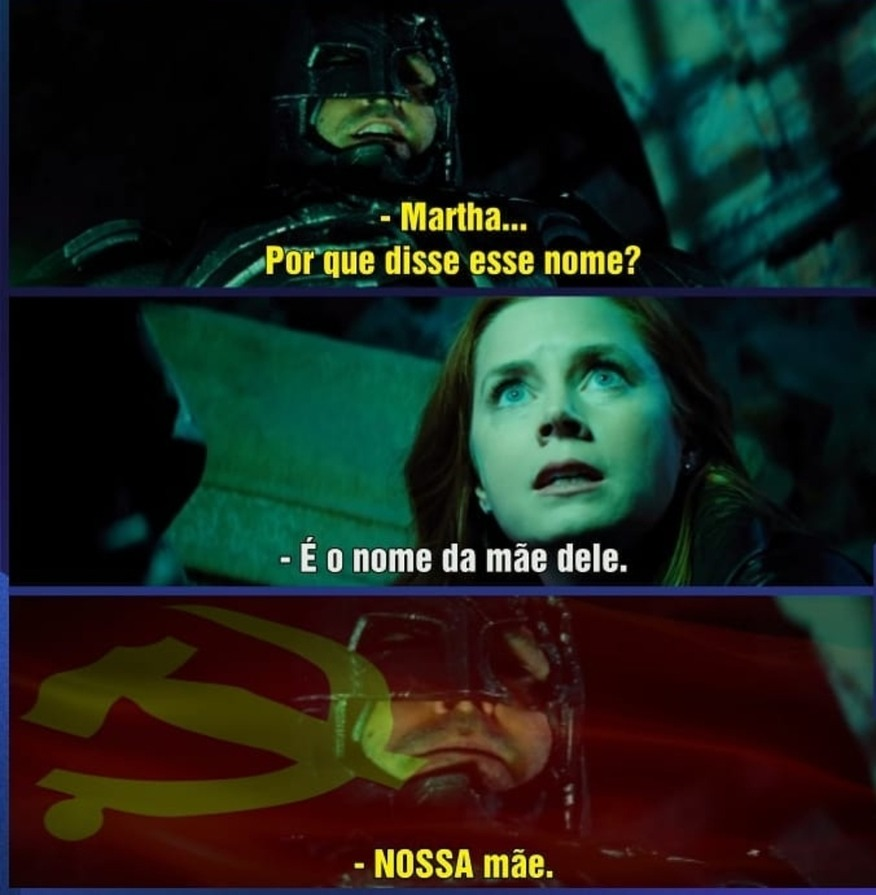 BATMAN vs Martha - meme