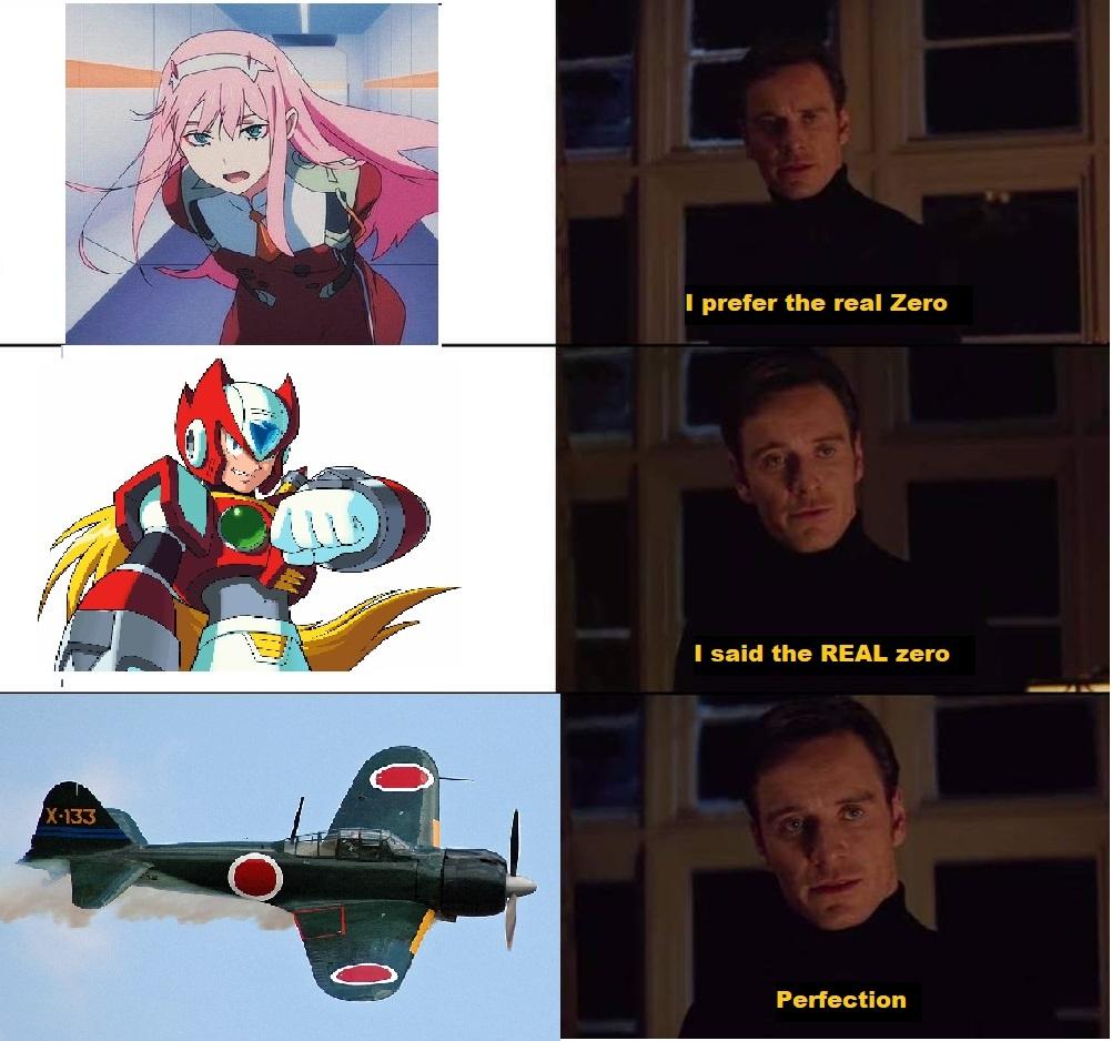 Mitsubishi A6M Zero model - meme