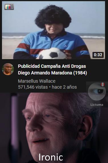 Lo que uno se encuentra en Youtube... - meme