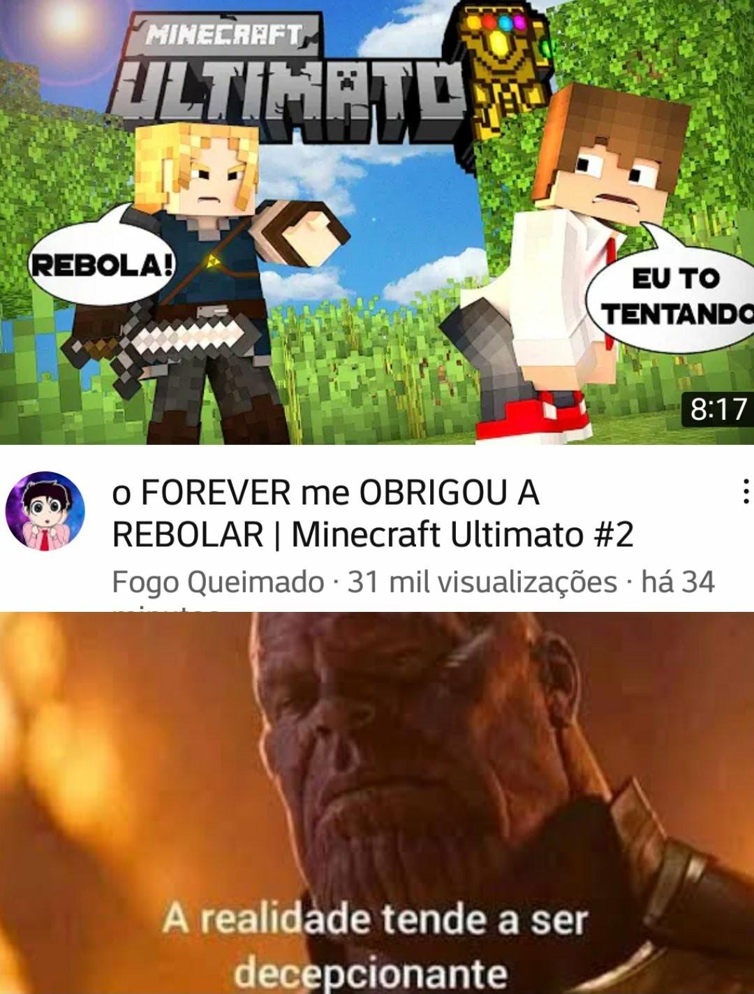 Minecraft End Gayme - meme
