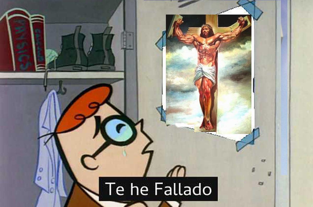 cristo rey - meme