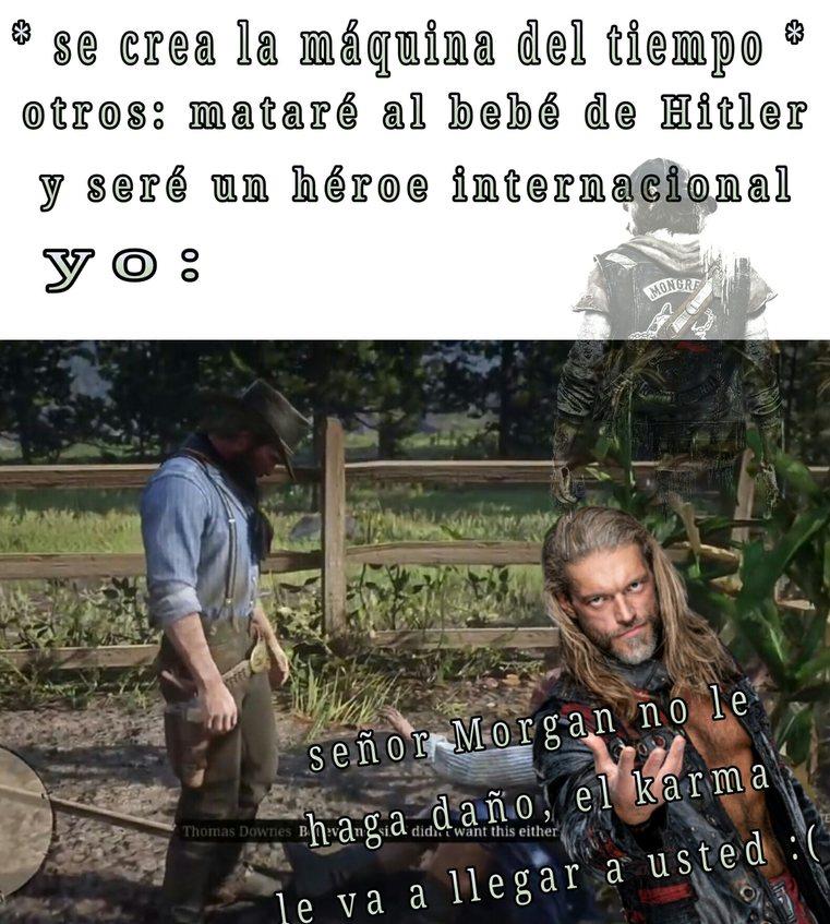 Que creen que habría pasado si Micah habría sido el de la paliza y no Arthur? - meme
