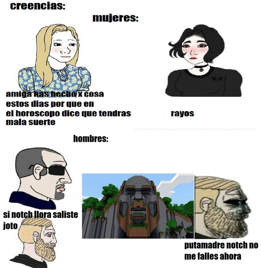 when pibas bad pibes gud - meme