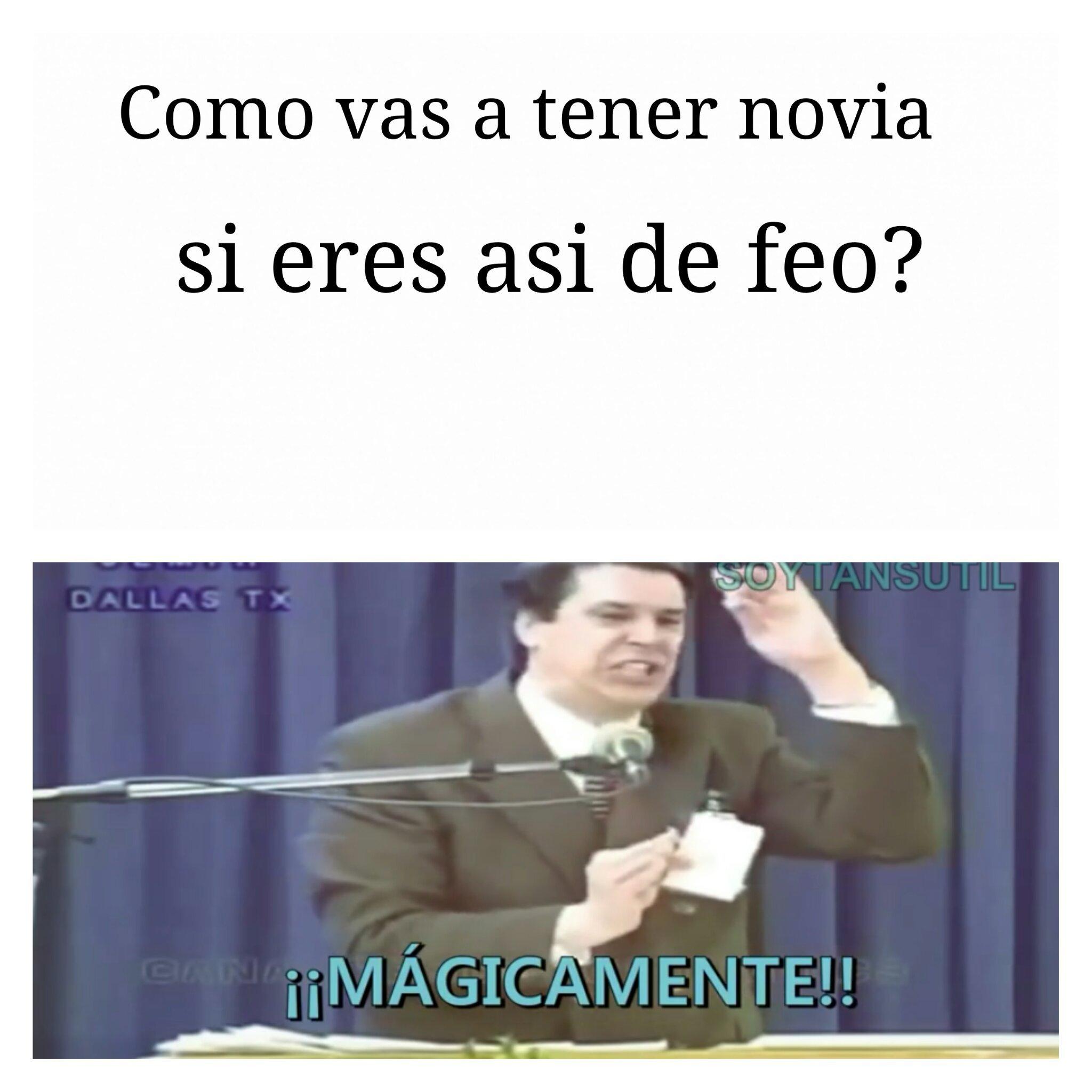 Magicamente papu :v - meme
