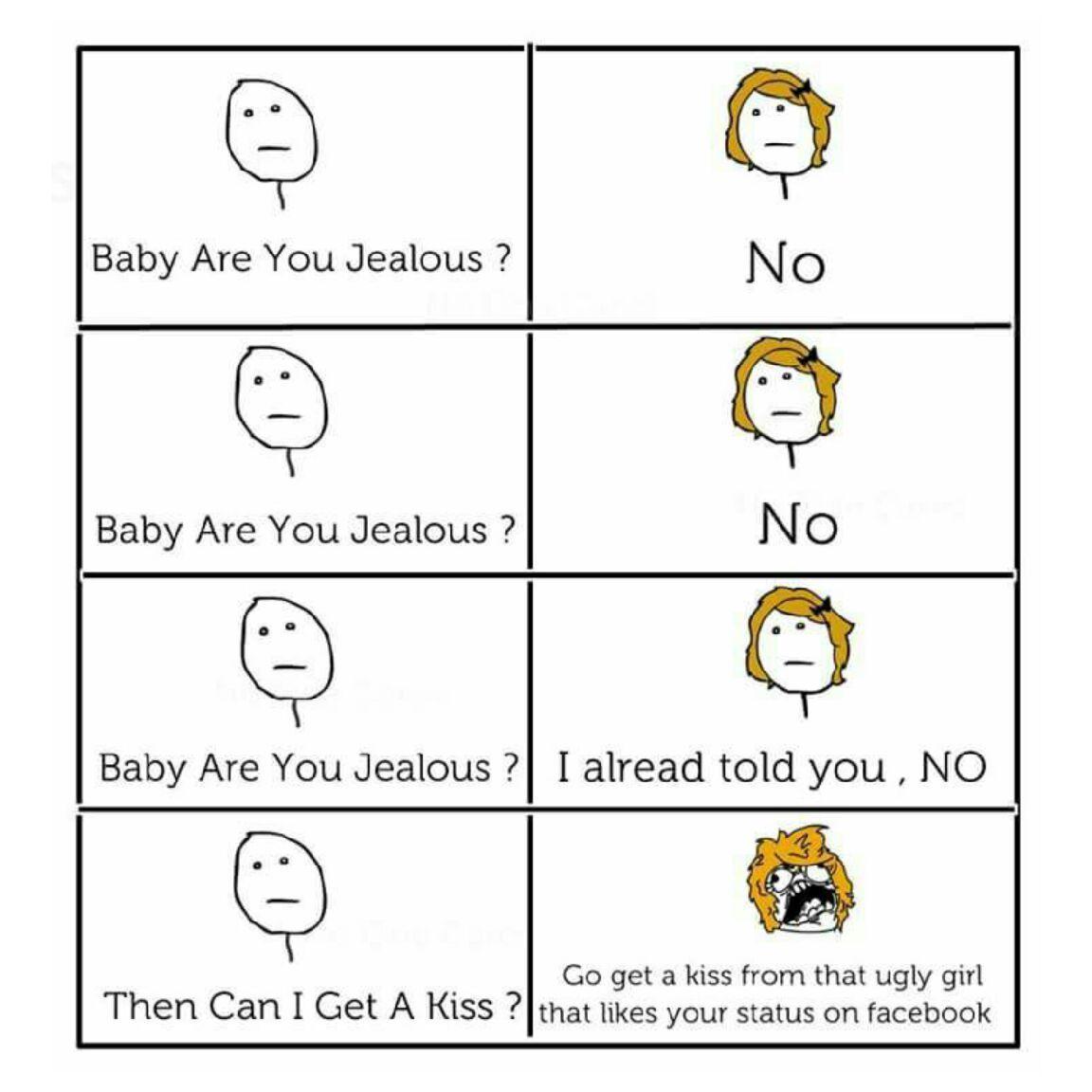 Jealous - meme