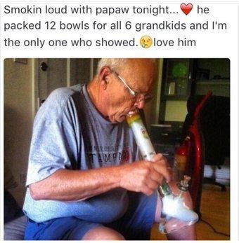 lil dad 420 - meme