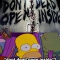 No muerte abre dentro