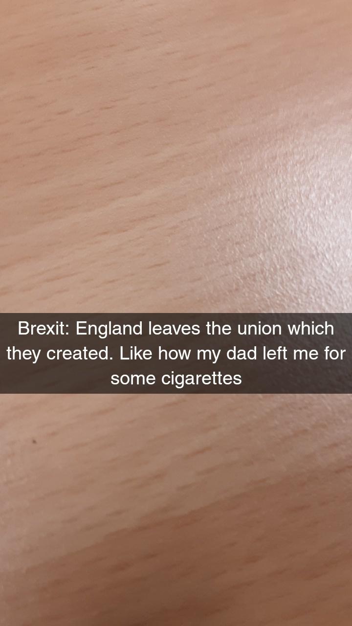 Brexit in a nutshell - meme