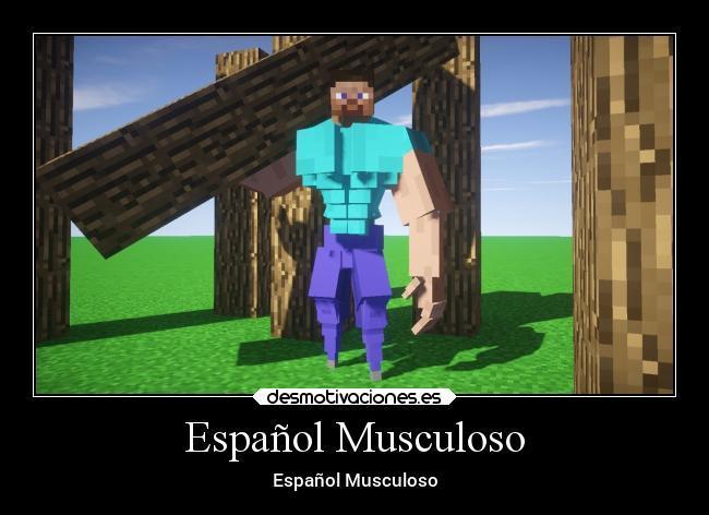 Español Musculoso - meme