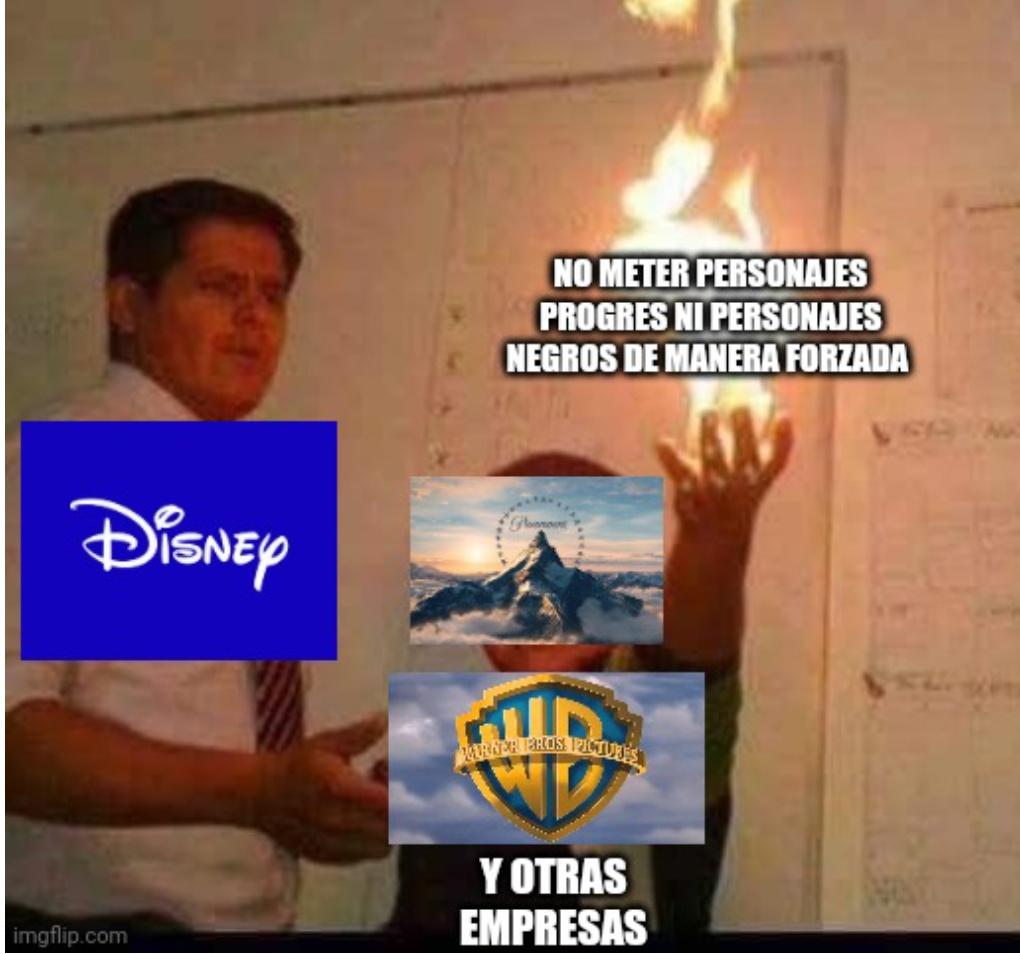 Disney anuncio que Tinkerbell será negra en el live action de Peter Pan :facepalm: - meme