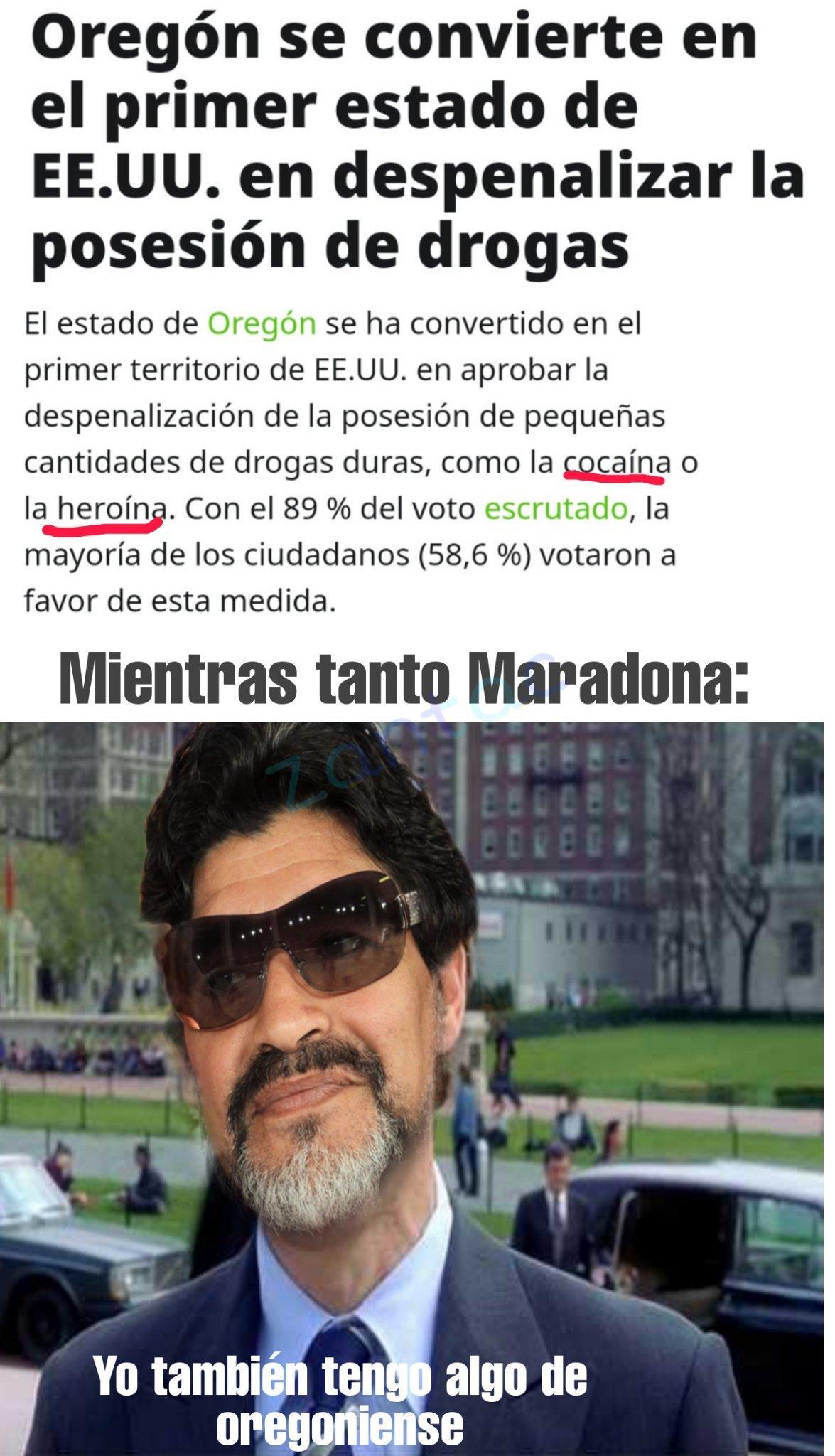 Marodona - meme