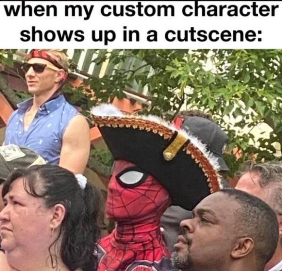 Captain Spiderman - meme