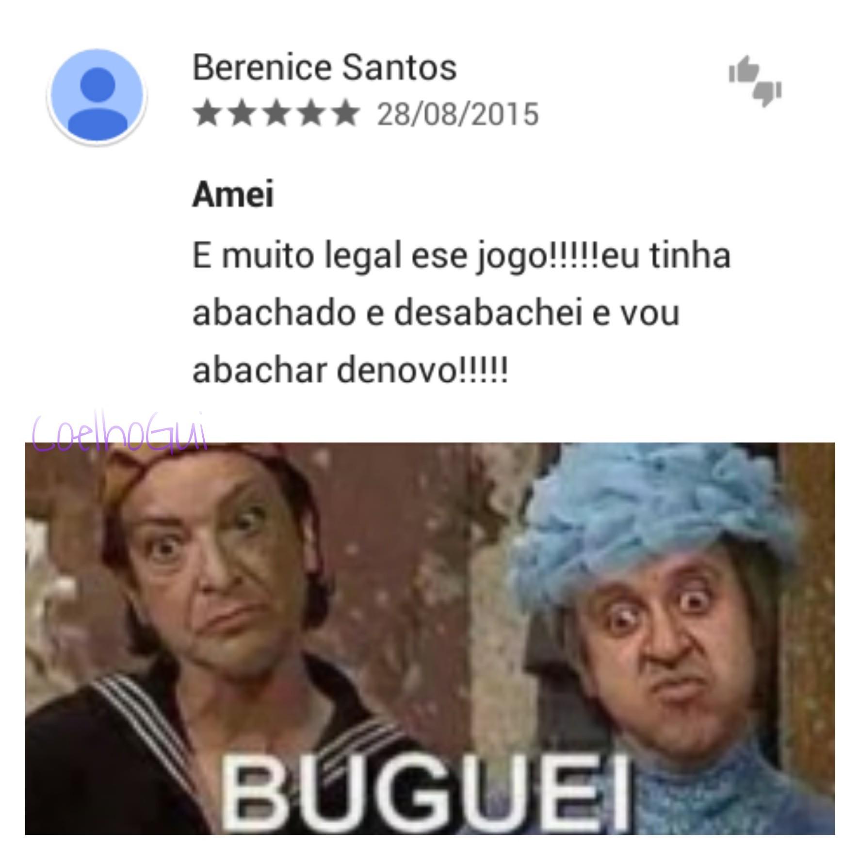 """""""Buguei"""" (SIGO DE VOLTA!) - meme"""