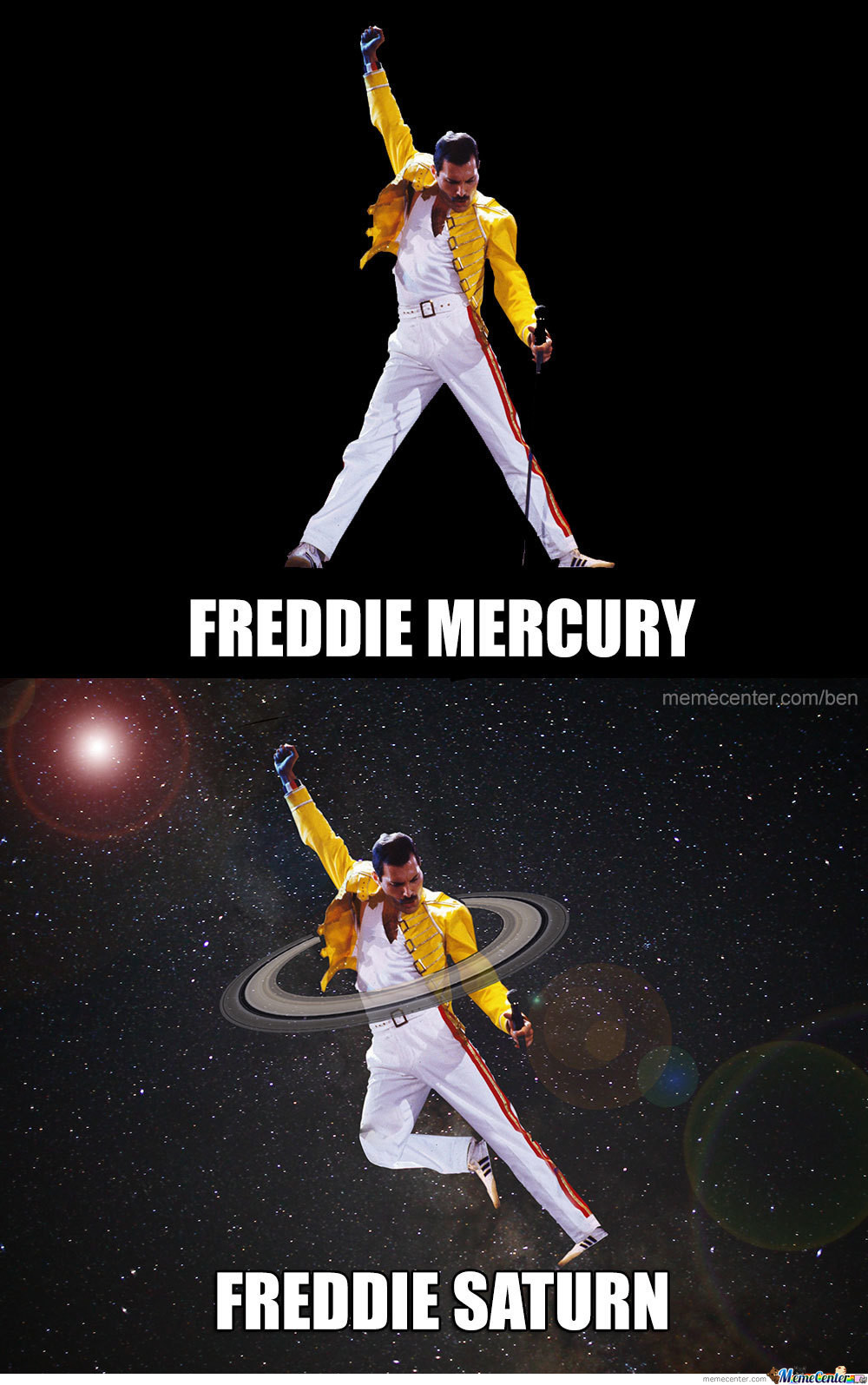 Happy 70th Birthday Freddie Mercury...The world still misses you... - meme
