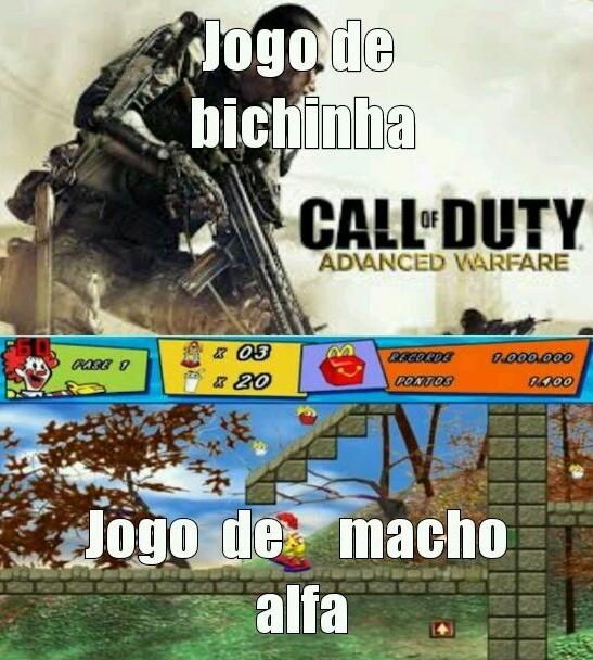 Jogo:McDonald's o resgate dos bichos(2014) - meme