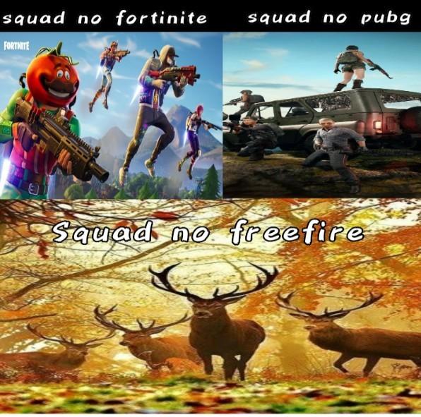 Fogo de grátis - meme