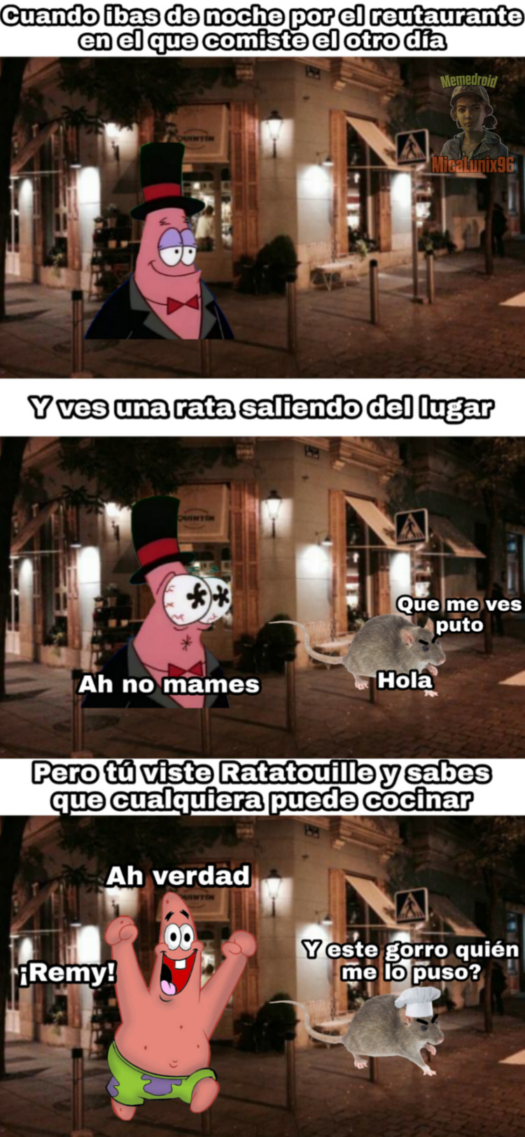 Top Memes De Ratatouille En Espanol Memedroid